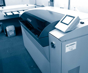 prepress machine: screen trueflow